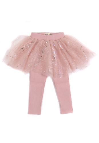 Moejoe pink MOEJOE Alina Tutu Skirt with Legging - PINK 2064FKAC849F16GS_1