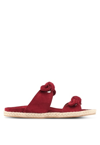 Something Borrowed red Double Knot Espadrille Sliders FBBE0SH4A1CB7BGS_1