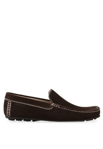 S.Baldo brown Alex Casual Shoes SB324SH55KOMID_1
