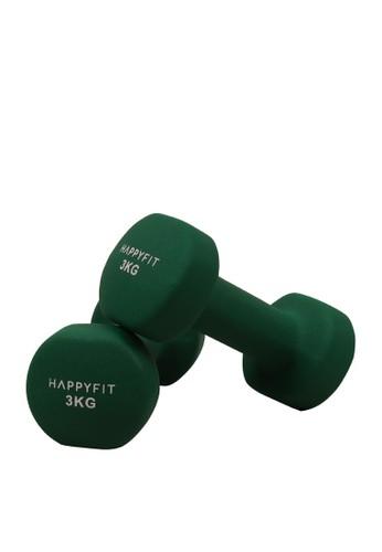 Happyfit green HAPPYFIT DUMBBELL NEOPRENE 3KG (2PCS) - GREEN E823AAC97A8630GS_1