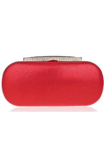The Papillon Design red Papillon Clutch - Elegant TH964AC61DRYMY_1