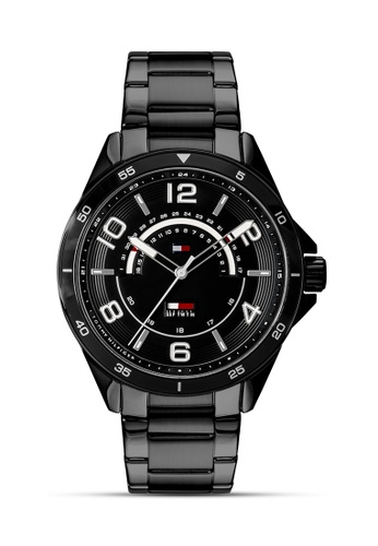 Tommy Hilfiger Watches black Men's Stainless Steel Watch TO959AC0JXO6PH_1