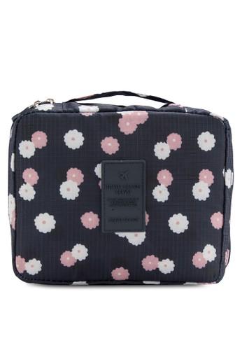 印花旅行洗刷化妝包、 包、 包Bagstationz印花旅行洗刷化妝包最新折價