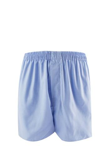 Murzaman blue Woven Boxer MU501US06NJDMY_1