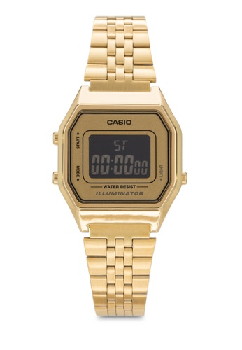 Casio gold Casio Women's Gold Stainless Steel Strap Watch LA680WGA-9BDF CA843AC32YQPMY_1