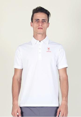 AMNIG 白色 Amnig Men Performance Polo E90A0AA3494653GS_1