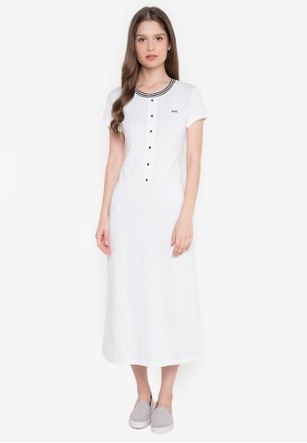 Le Tigre white Ladies Dress LE798AA0K412PH_1