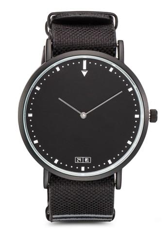 暗紋帶圓框手esprit 兼職錶, 錶類, 飾品配件