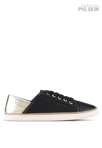 Keddo black Original Laced-Up Sneakers With Soft Back Detail 9782FSH3209FAEGS_1