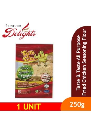 Prestigio Delights black Taste & Tastes All Purpose Fried Chicken Seasoning Flour 250g F410FESD3D1D19GS_1