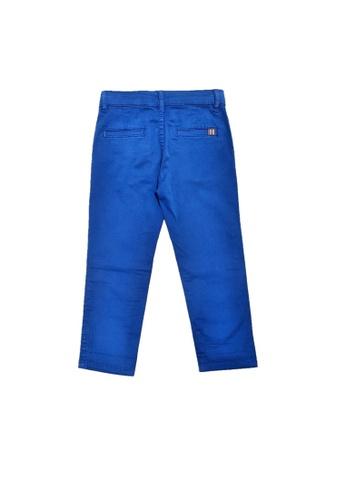 PAUL SMITH JUNIOR blue PAUL SMITH JUNIOR BOYS LONG PANTS 3B25BKA38E4911GS_1