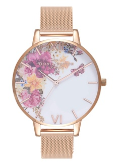 7705487b1c70 ENCHANTED GARDEN Rose-Gold 38 mm Women s Watch E522AAC94D6A5AGS 1 Olivia  Burton ...