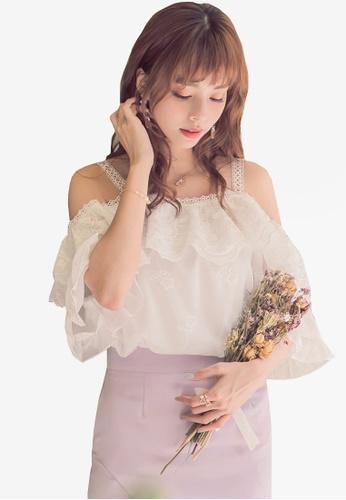 YOCO white Lace Vest 6F177AA9676700GS_1