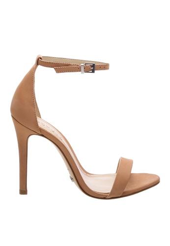 SCHUTZ 褐色 SCHUTZ 搭帶高跟涼鞋 - MAGNOLIA (烤果色) B1ACFSH2A04A91GS_1