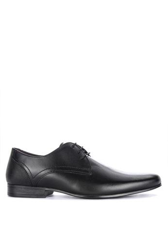 Burton Menswear London black Sampson Shoes DF0E1SHADA71C9GS_1