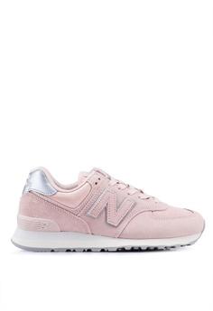 free shipping 57d8b 970f8 New Balance pink 574 Lifestyle Shoes 48477SH4D2B12AGS 1