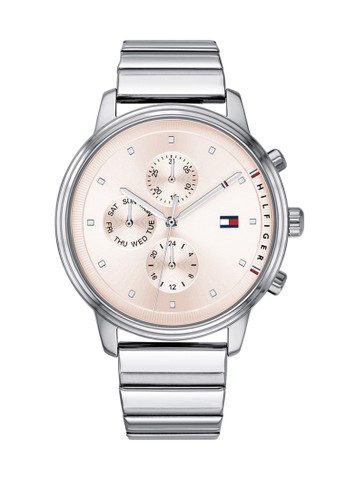 Tommy Hilfiger Watches silver Tommy Hilfiger Silver Stainless Steel Watch 4D8AEAC80F99A0GS_1