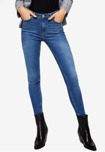 Mango blue Super Slim-Fit Andrea Jeans 6D39CAA790A3C0GS_1
