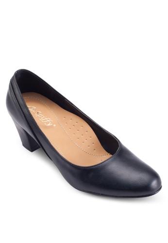 經典尖頭低粗跟鞋, 韓系時尚, esprit高雄門市梳妝