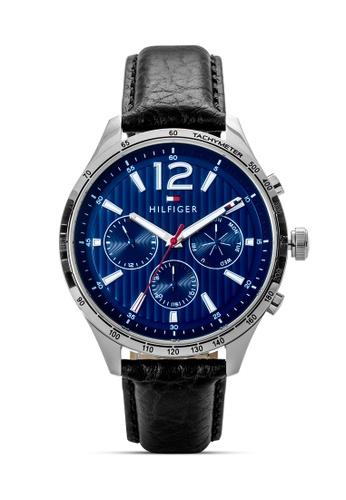 d3d94ac9b Shop Tommy Hilfiger Watches Men's Plain Leather Strap Watch Online on  ZALORA Philippines