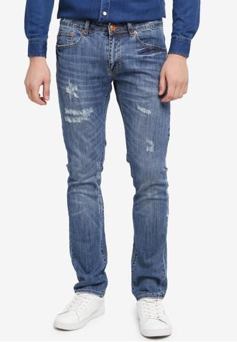 Electro Denim Lab blue Calypso Slim Tapered Jeans 6DB42AA452BF29GS_1