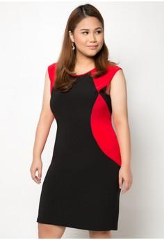 Beatrice Short Plus Size Dress
