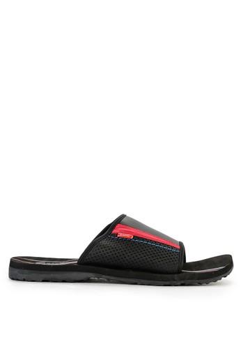 CARVIL black Carvil Sandal Sponge Man Kendari Black Red E26FESHA3E136EGS_1