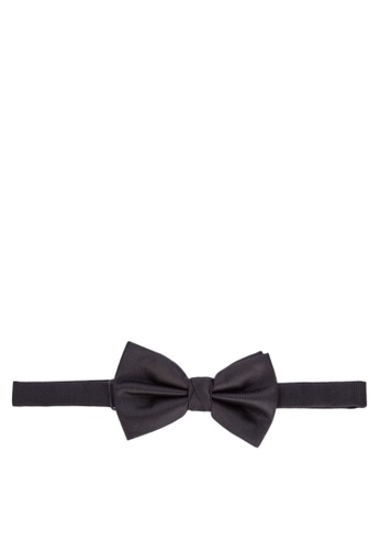 Burton Menswear London black Black Bow Tie 84D50AC65B8100GS_1