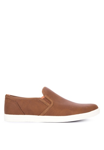 ALDO brown ALDO Grilidda Slip Ons FA023SH33188B1GS_1