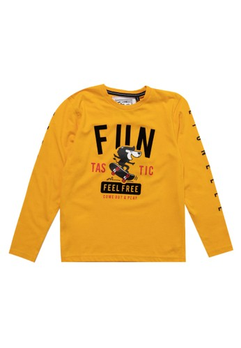Twist Kids yellow Ts 1218 C Obl Pjg Hshl 666AAKA48ED334GS_1