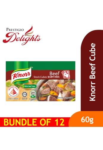 Prestigio Delights Knorr Beef Cube 60g Bundle of 12 04D44ESC505D25GS_1