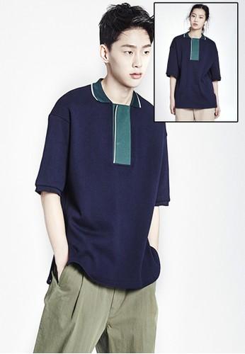 色塊Pesprit台灣網頁OLO 衫, 服飾, 上衣