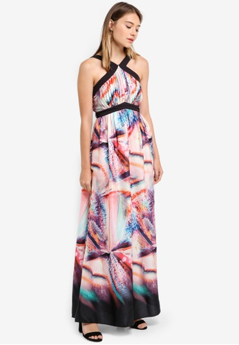 Little Mistress multi Print Maxi Dress 2C52CAA9D5BE4EGS_1