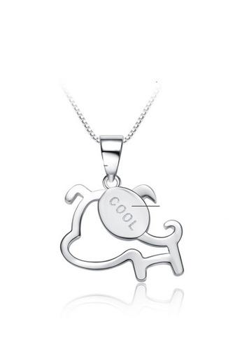 LYCKA silver LPP88159 S925 Silver Necklace D354FACDA49EFDGS_1