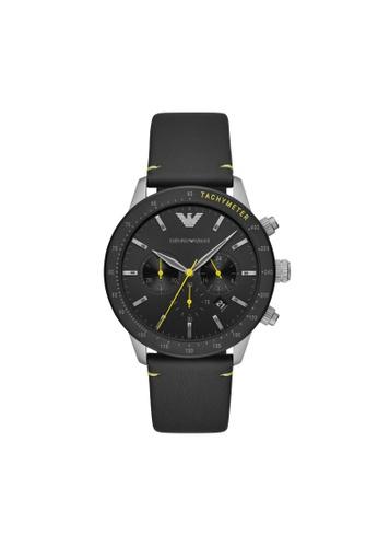 Armani black Mario Watch AR11325 8BC60AC297DBA1GS_1