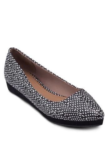 Stacesprit分店ey 厚底尖頭平底鞋, 女鞋, 鞋