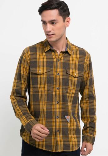 Emba Jeans yellow Murdo Shirt One 8646EAA3263F42GS_1