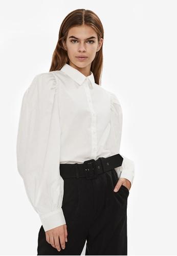 Vero Moda white Avery Long Sleeves Shirt CB07CAA29BD058GS_1