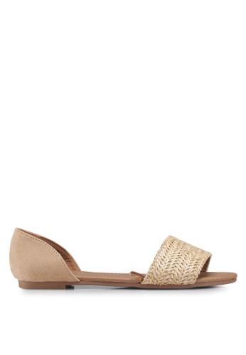 Rubi 褐色 Dixie Peep 平底鞋 C0DD9SHCC186A2GS_1