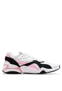 91473fbedee Puma white Nova 90 s Bloc Women s Sneakers 68D85SHC7C0DE5GS 1