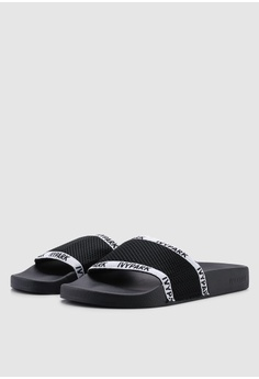 074e644e9cb29f Ivy Park Sheer Mesh Sliders S  50.90. Available in several sizes · Nike  pink Women s Nike Kawa Shower Sandals AAB27SHA46E0F0GS 1
