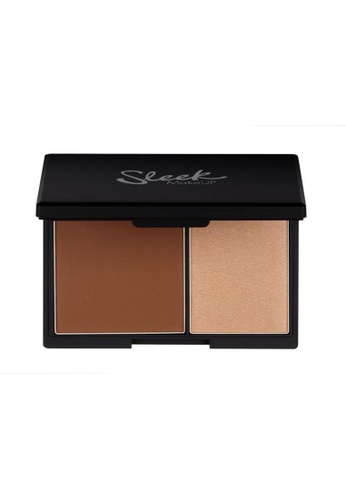 Sleek brown Sleek MakeUP Contour Kit Medium 885 SL667BE0RO5FMY_1