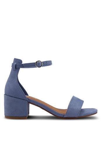 Rubi blue Ivy Low Block Heels 236D8SHCD6E1F4GS_1