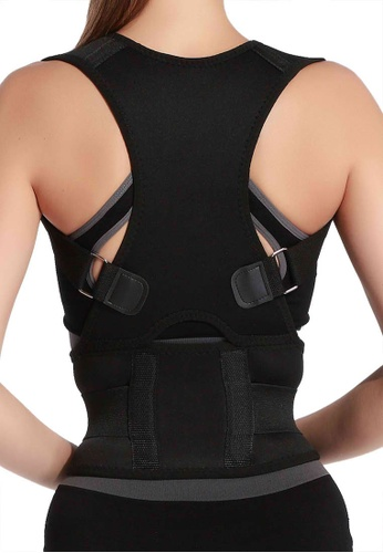 Golden Ticket Super Savers black Back Posture Corrector with Spine Realignment 00A37US78325B8GS_1