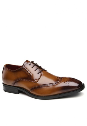 Twenty Eight Shoes 真皮復古擦色牛津鞋3210-6 0CF8CSH321837DGS_1