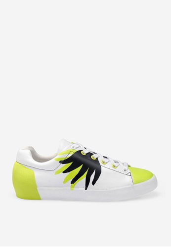 ASH multi ASH Nicky Flame Sneakers - White F96C1SH42A0ECCGS_1