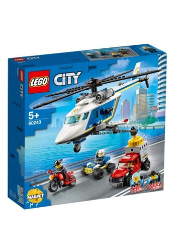 LEGO multi LEGO City Police 60243 Police Helicopter Chase (212 Pieces) 36AF7TH89141E4GS_1