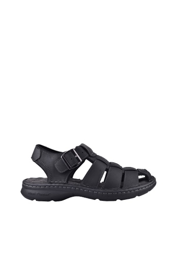 Hush Puppies black Hush Puppies NEIL In  Black 9A834SHF7CA097GS_1