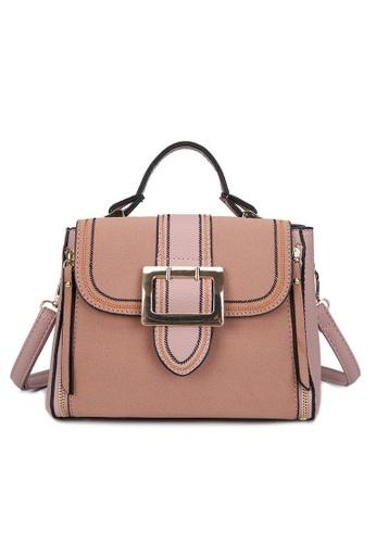 Lara pink Women's Top-Handle Bag With A Strap C0812AC15C6D44GS_1