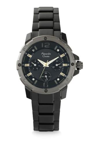 Alexandre Christie black Alexandre Christie Jam Tangan Wanita - Black Grey - Stainless Steel - 6410 BFBEPBA 7F15FAC7CD9A0FGS_1
